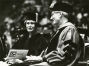 Erma Bombeck at the University of Dayton 1981 Commencement. She was awarded a Doctor of Humane Letters.