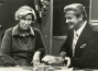 """Syndicated columnist, Erma Bombeck, tells some of her favorite stories to John Willis, co-host of """"Good Day."""""""