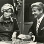 "Syndicated columnist, Erma Bombeck, tells some of her favorite stories to John Willis, co-host of ""Good Day."""