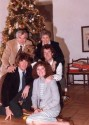Christmas at the Bombecks in 1982. Pictured are Bill, Erma, Andy, Matt and Betsy.
